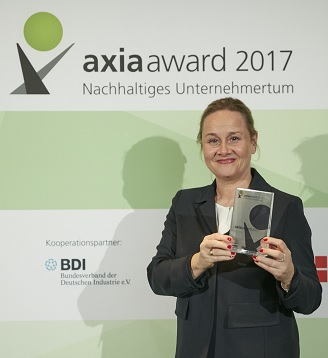 GELITA wins Axia Award 2017